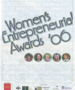 Women's Entrepreneurial Awards '06