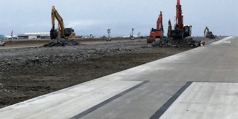 Runway 6L-24R Safety Area Improvements
