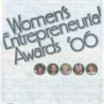 Women's Entrepreneurial Awards '06